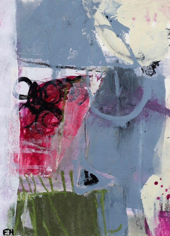 """<span class=""""artist""""><strong>Felice Hodges</strong></span>, <span class=""""title""""><em>Red, Grey and Magenta</em></span>"""