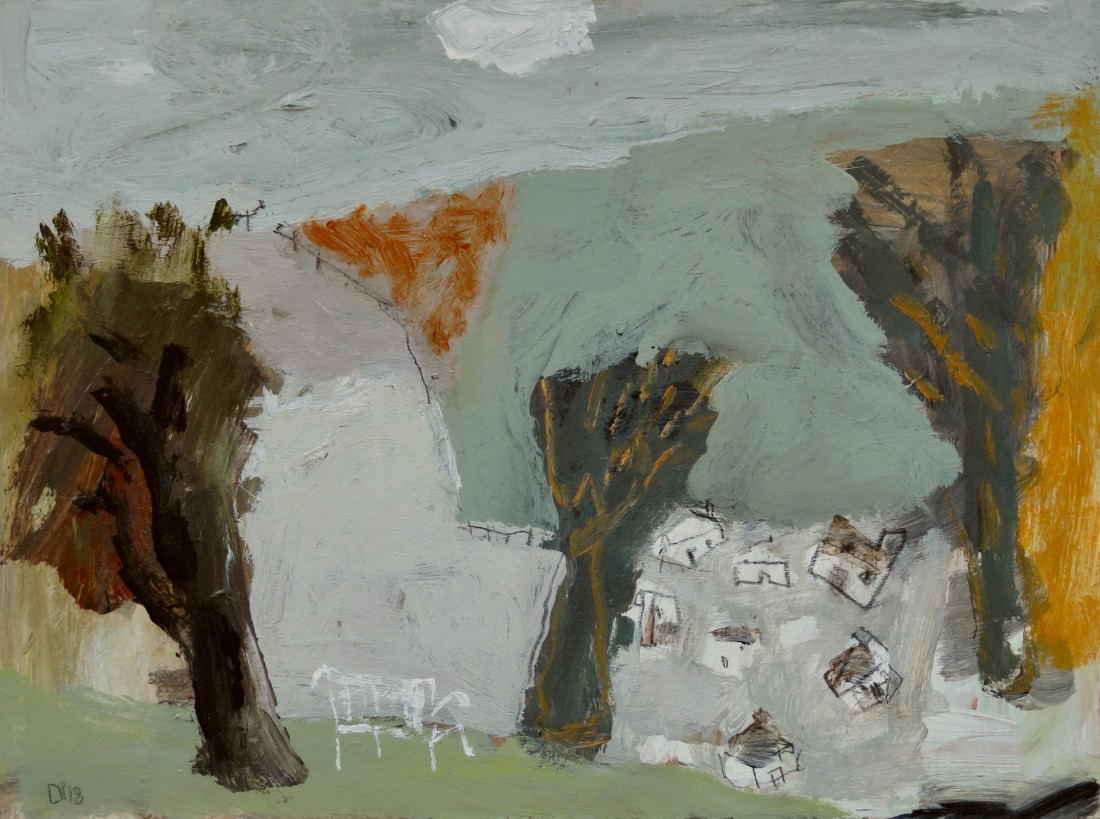 """<span class=""""artist""""><strong>David Pearce</strong></span>, <span class=""""title""""><em>View across the Valley </em></span>"""