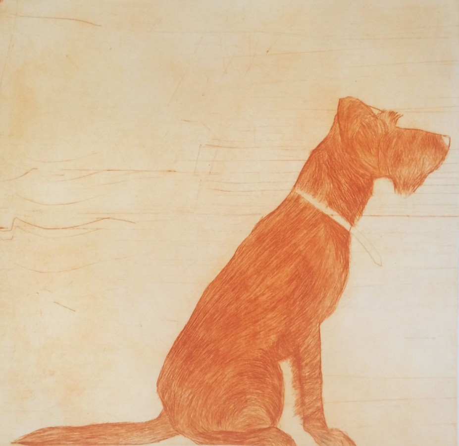 "<span class=""artist""><strong>Kate Boxer</strong></span>, <span class=""title""><em>Tinker - Orange (Framed)</em></span>"