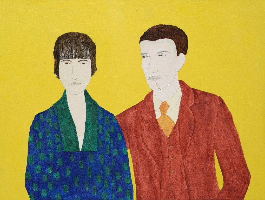 "<span class=""artist""><strong>Kate Boxer</strong></span>, <span class=""title""><em>Katherine Mansfield and John Middleton Murry</em></span>"