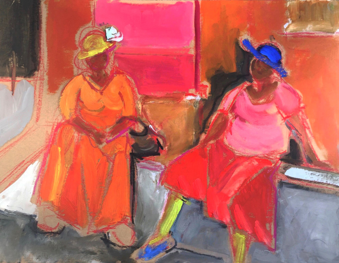 <span class=&#34;artist&#34;><strong>Annie Field</strong></span>, <span class=&#34;title&#34;><em>Waiting for the Bus</em></span>