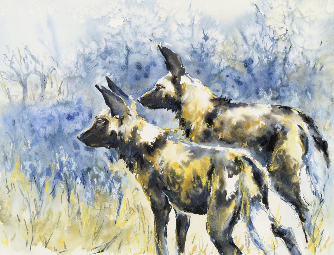 """<span class=""""artist""""><strong>Julia Cassels</strong></span>, <span class=""""title""""><em>Hunt</em></span>"""