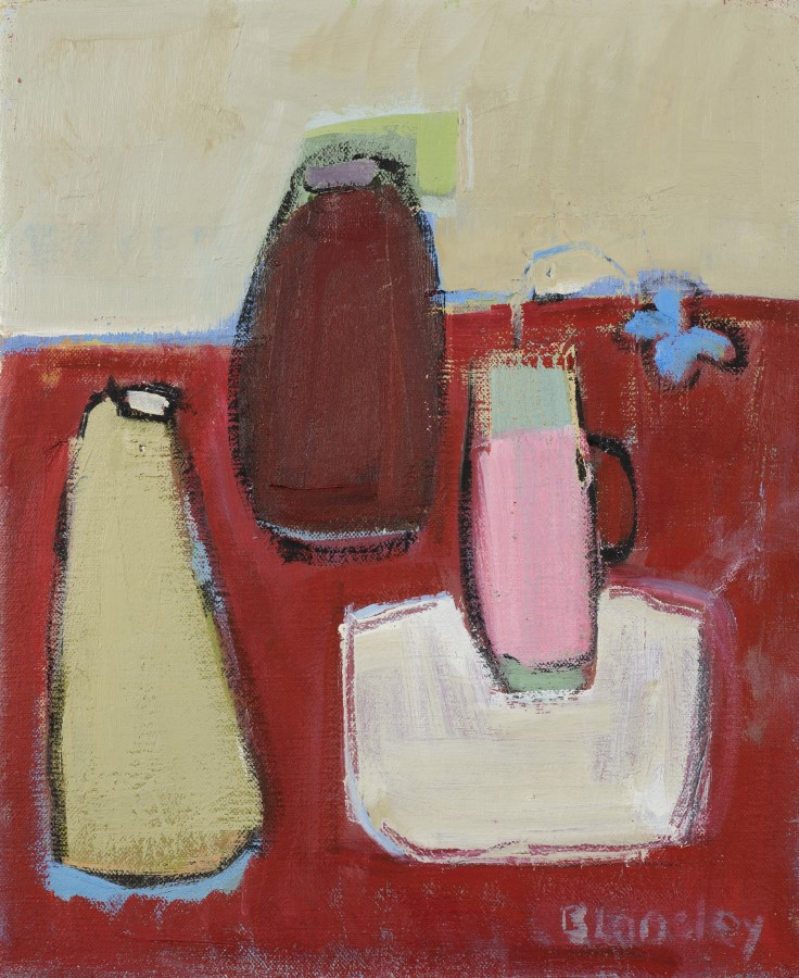 "<span class=""artist""><strong>Bridget Lansley</strong></span>, <span class=""title""><em>Red Sea</em></span>"