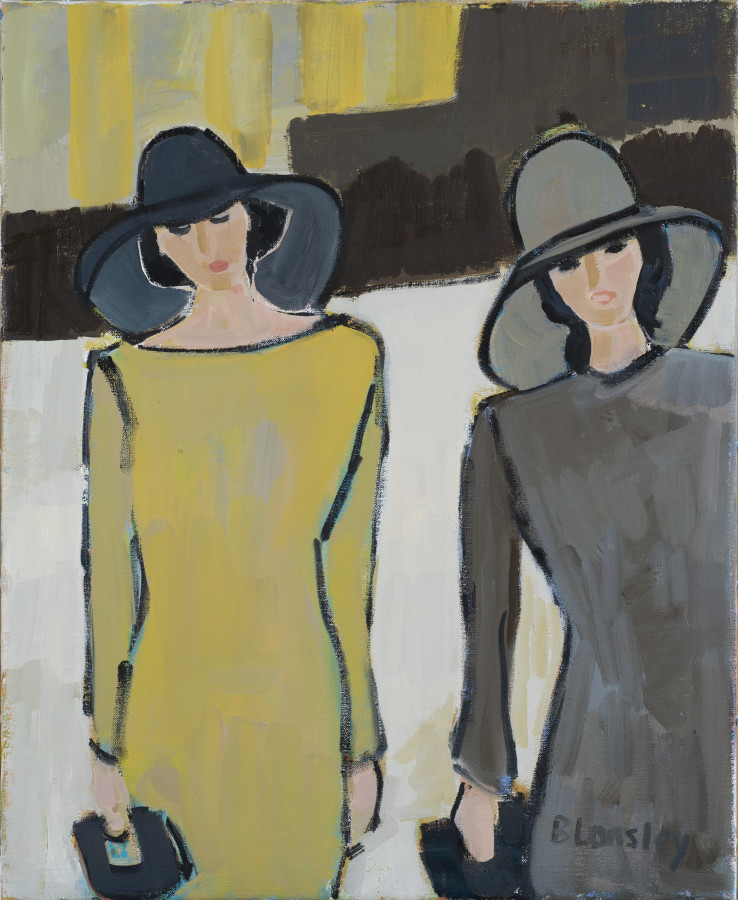 "<span class=""artist""><strong>Bridget Lansley</strong></span>, <span class=""title""><em>Two for Tea</em></span>"