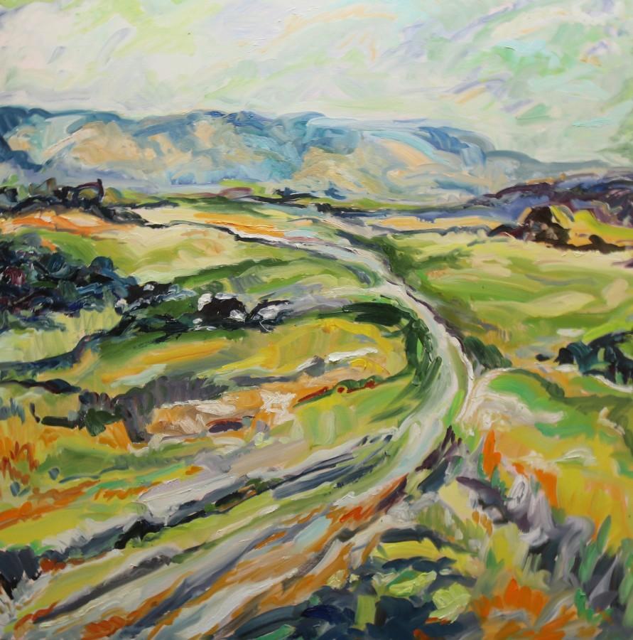 "<span class=""artist""><strong>Fi Katzler</strong></span>, <span class=""title""><em>South Downs Way (London Gallery)</em></span>"