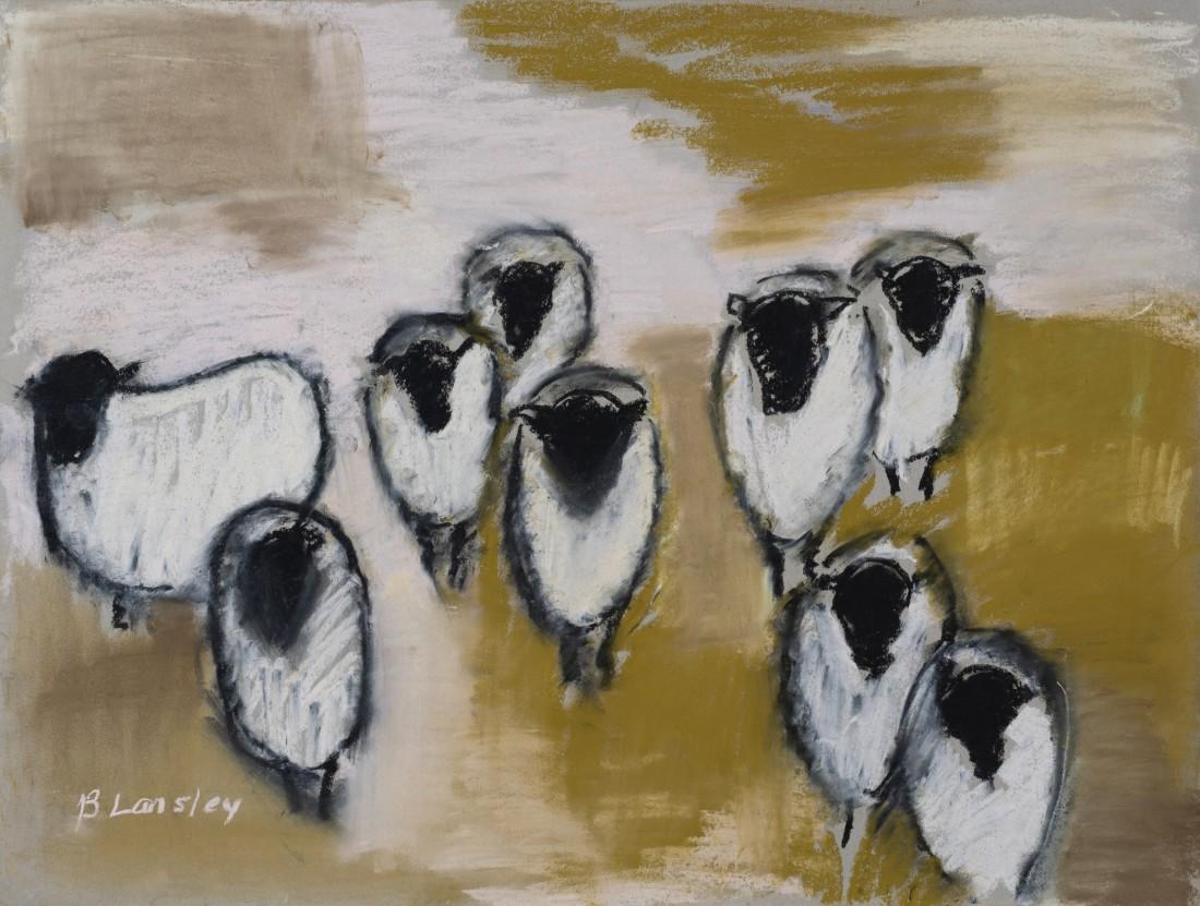 "<span class=""artist""><strong>Bridget Lansley</strong></span>, <span class=""title""><em>Sideways Glance</em></span>"