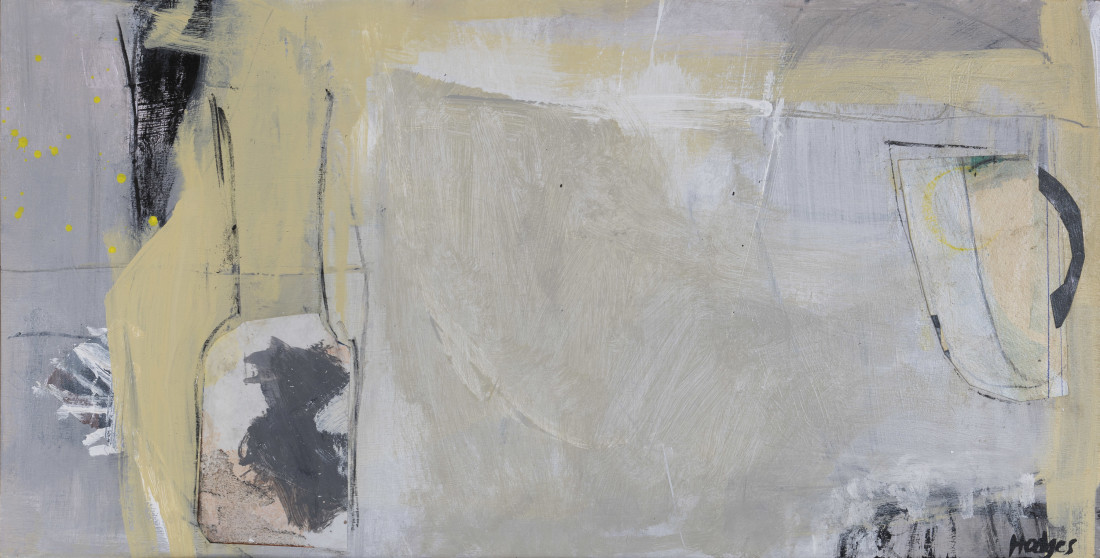 """<span class=""""artist""""><strong>Felice Hodges</strong></span>, <span class=""""title""""><em>Maize on Grey</em></span>"""