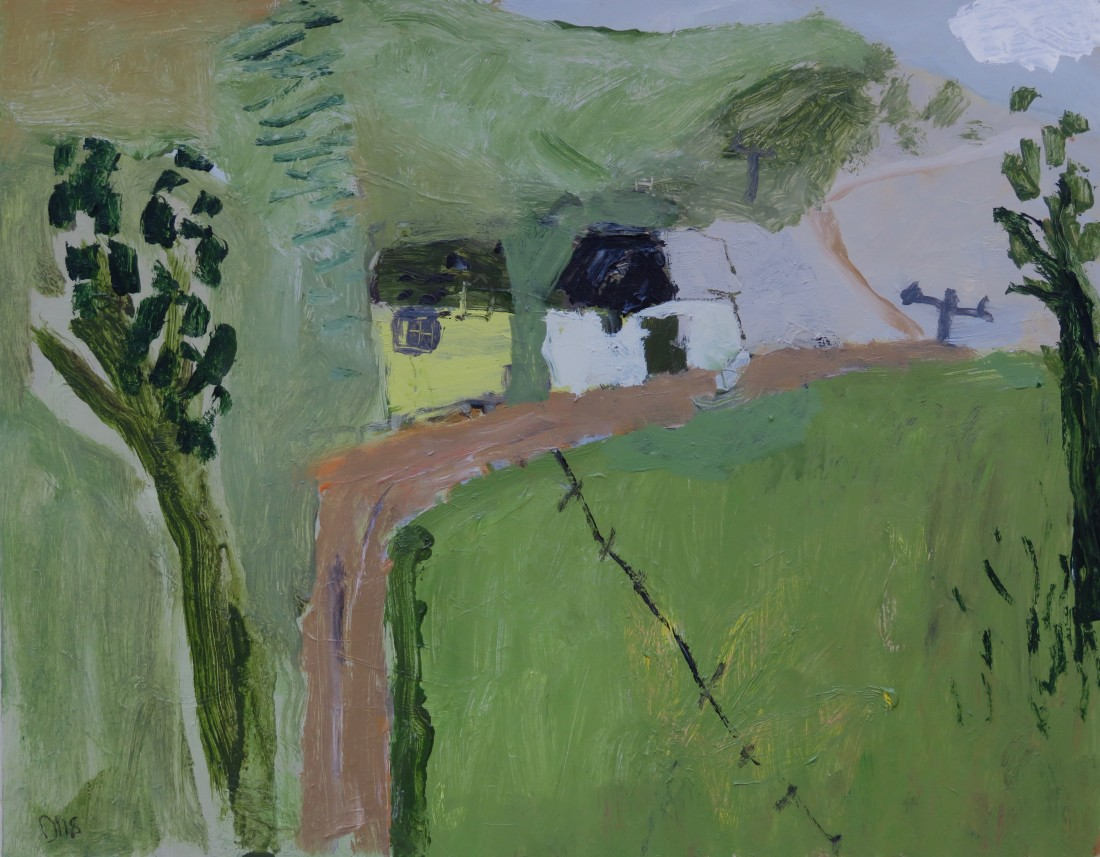 """<span class=""""artist""""><strong>David Pearce</strong></span>, <span class=""""title""""><em>Track to the Beach </em></span>"""