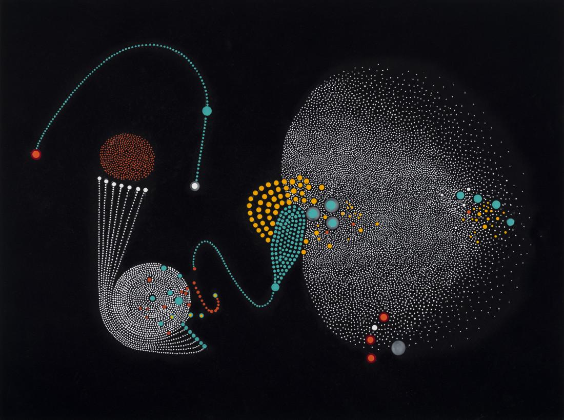 Paula Overbay, Synapse II, 2019