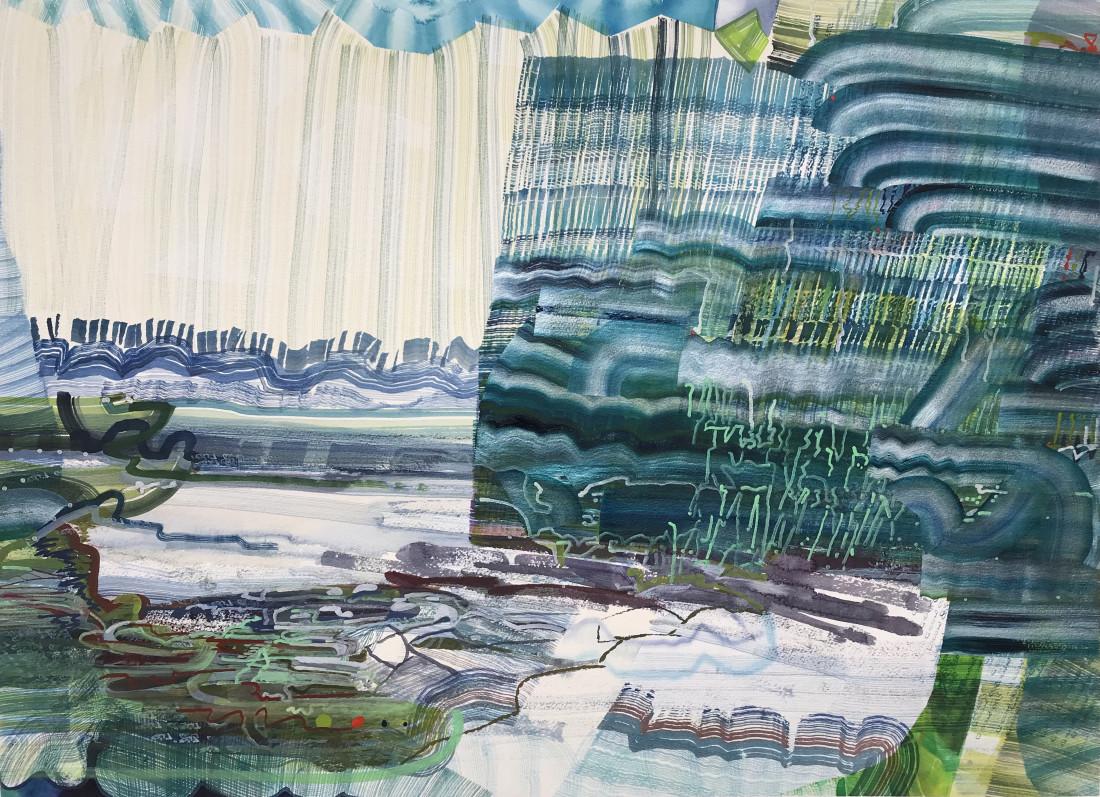 <span class=&#34;artist&#34;><strong>Josette Urso</strong></span>, <span class=&#34;title&#34;><em>Sea Moss</em>, 2018</span>