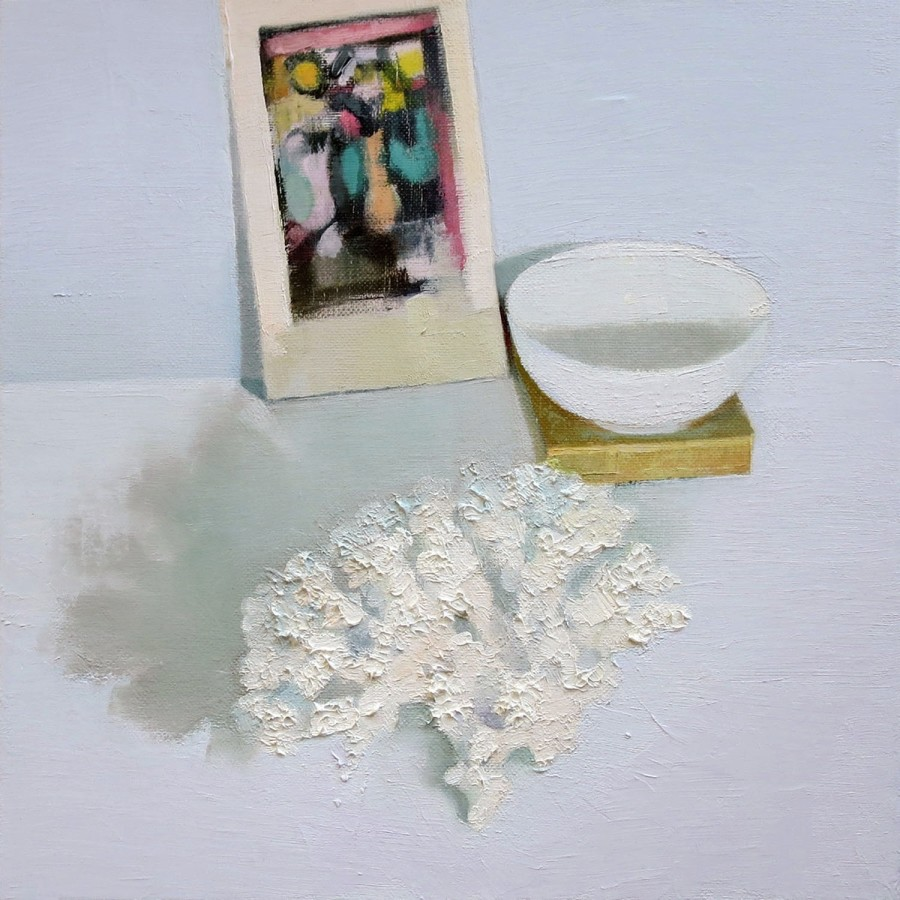 <div class=&#34;artist&#34;><strong>Stephanie London</strong></div><div class=&#34;title&#34;><em>Still Life with Roualt</em>, 2014</div><div class=&#34;medium&#34;>oil on linen</div><div class=&#34;dimensions&#34;>12 x 12 in.</div>