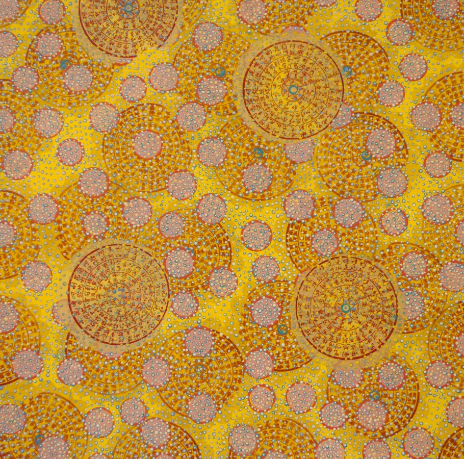 <div class=&#34;artist&#34;><strong>Diane Ayott</strong></div><div class=&#34;title&#34;><em>Snow in Summer</em>, 2015</div><div class=&#34;medium&#34;>mixed media on paper</div><div class=&#34;dimensions&#34;>20 x 20 in</div>