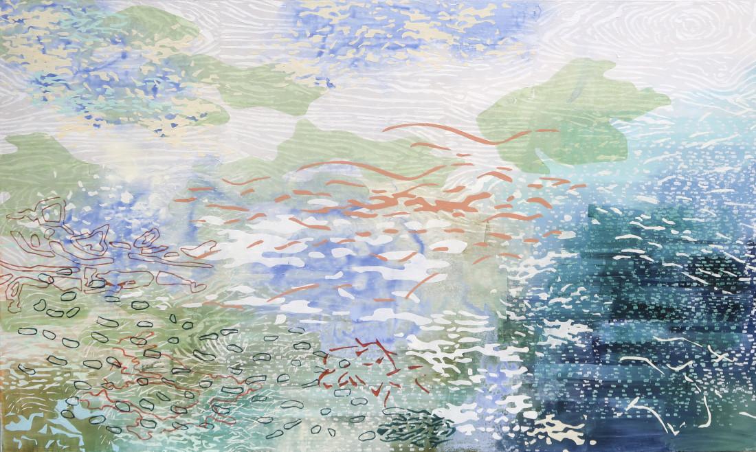 Laura Fayer, Float Tide, 2019