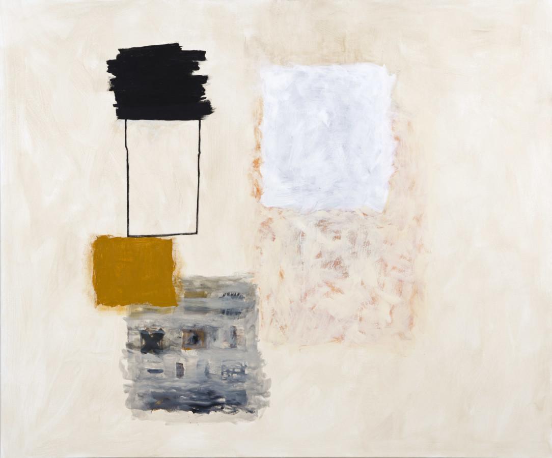 Rocio Rodriguez, Black, Ochre, White, 2017
