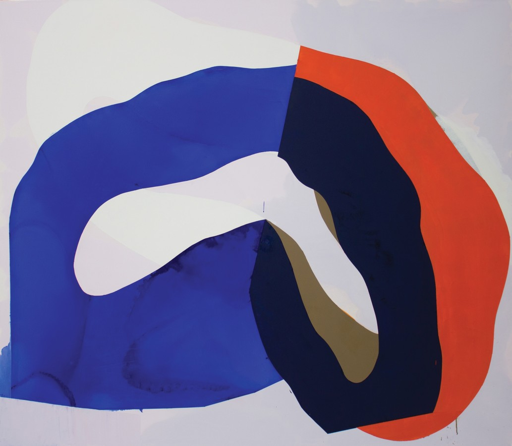 Marcelyn McNeil  Inside Out, 2015  oil on canvas  60 x 72 in.