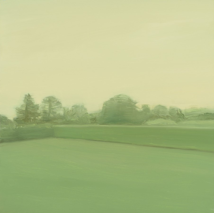 Sara MacCulloch Hedge, 2014 oil on panel 24 x 24 in.
