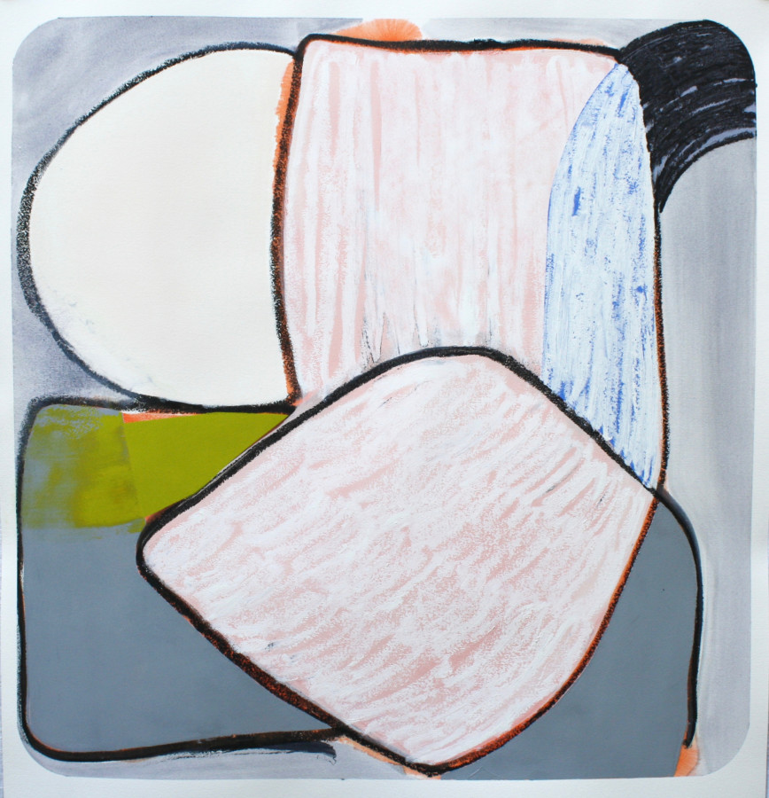 Marcelyn McNeil, Sliced, Diced, Scattered and Covered #1, 2017