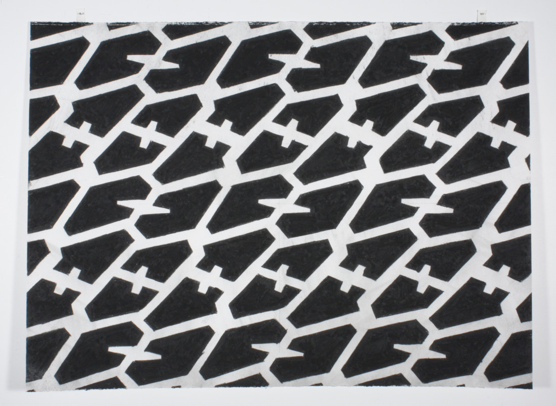 Noah Loesberg, Tire Tread #3, 2011