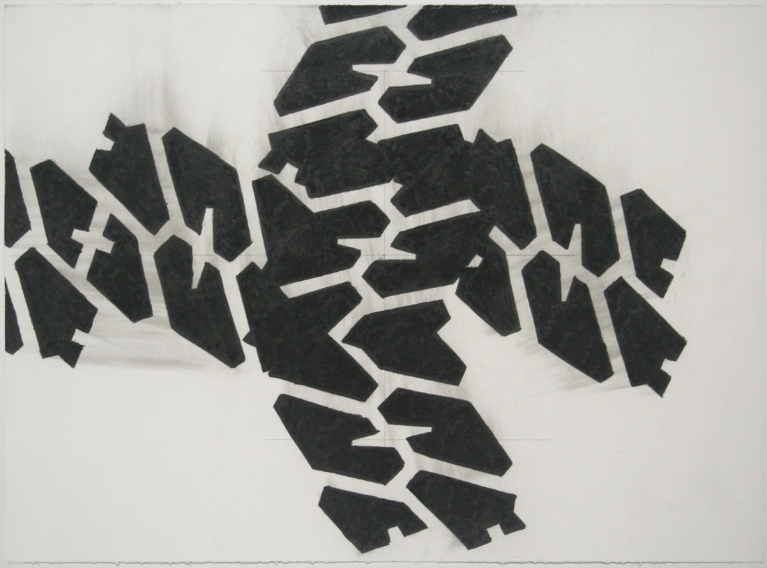 <span class=&#34;artist&#34;><strong>Noah Loesberg</strong></span>, <span class=&#34;title&#34;><em>Tire Tread #4</em>, 2011</span>