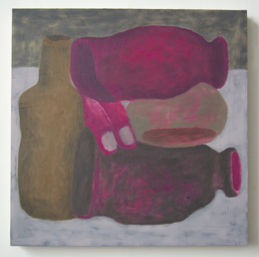 <p><span class=&#34;artist&#34;><strong>Ginny Casey</strong></span>, <span class=&#34;title&#34;><em>Fuschia Stack</em>, 2017 </span></p>
