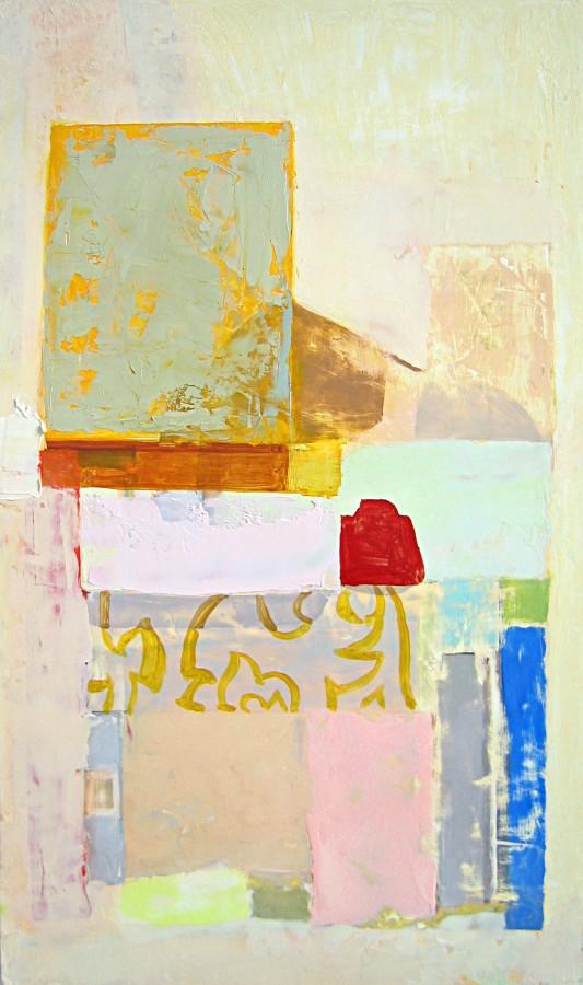 Sydney Licht  Untitled, 2014  oil on panel  16 x 9.5 in  $2,000