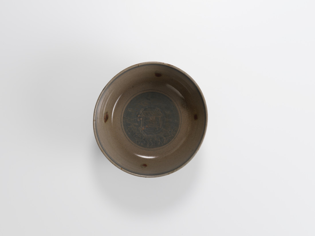 Bernard Leach, Early Stoneware Bowl