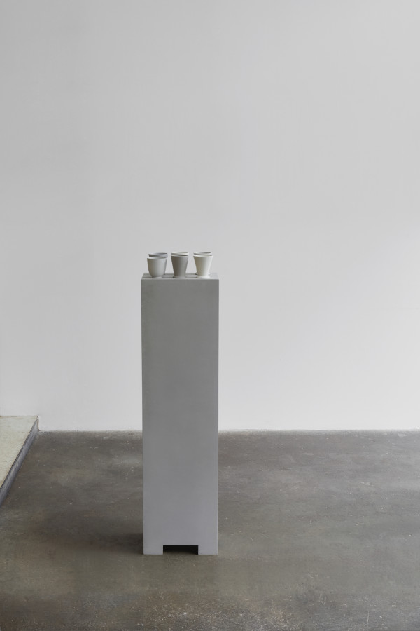 Julian Stair, Six Cups on Tall Ground, 2018