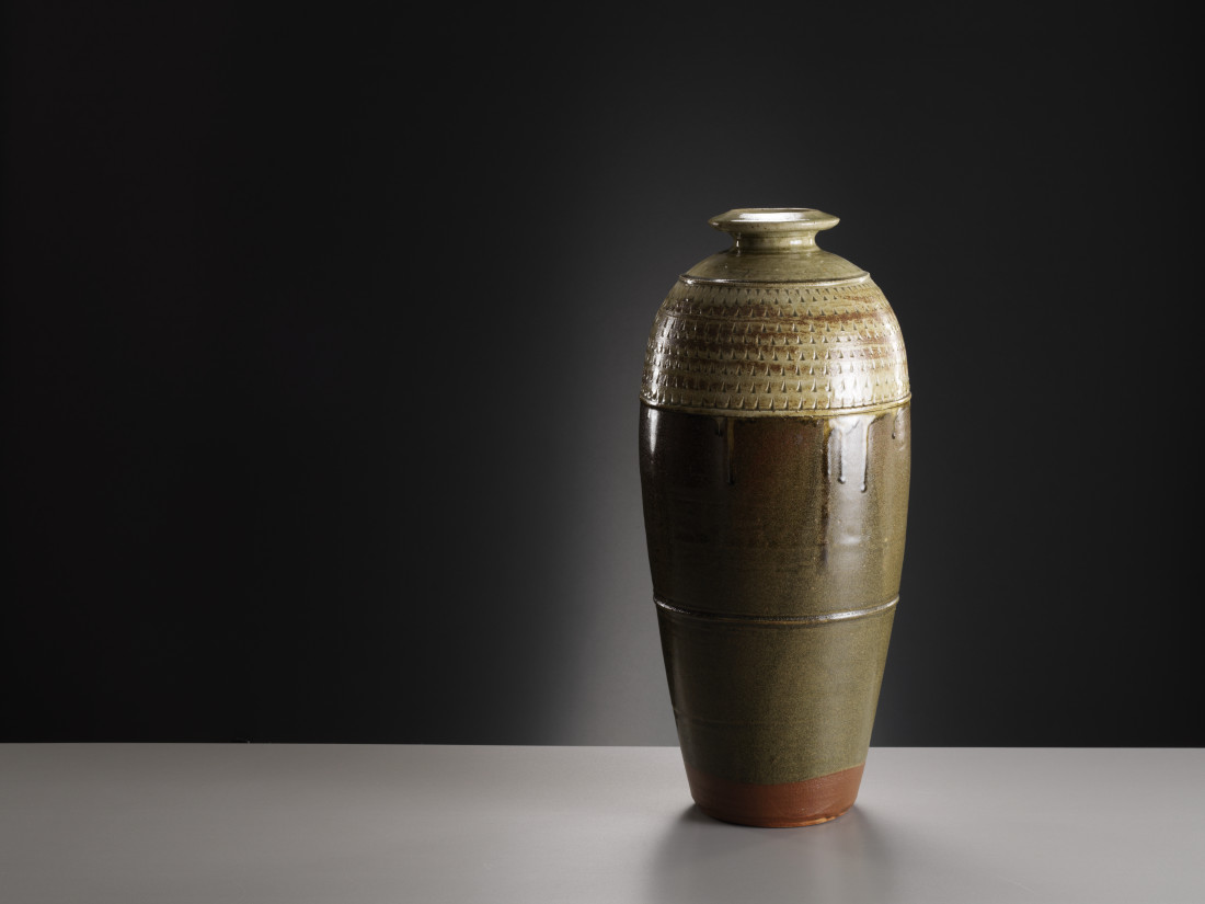 Richard Batterham, Tall Stoneware Bottle