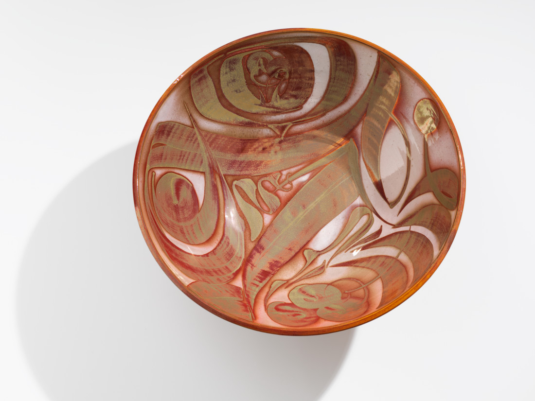 Alan Caiger Smith, Monumental Lustre Bowl, 1977