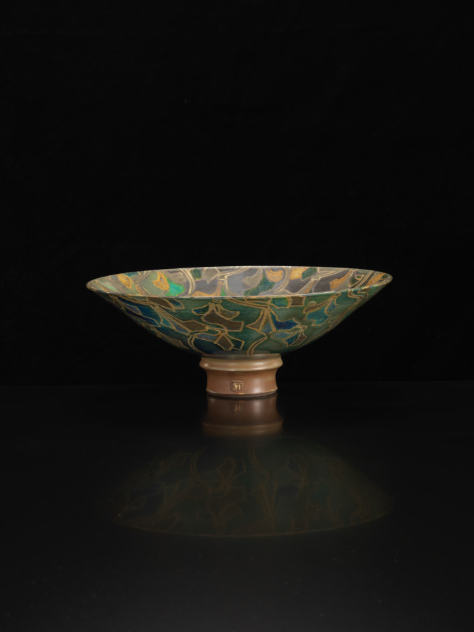 <span class=&#34;artist&#34;><strong>Sutton Taylor</strong><span class=&#34;artist_comma&#34;>, </span></span><span class=&#34;title&#34;>Large Bowl</span>