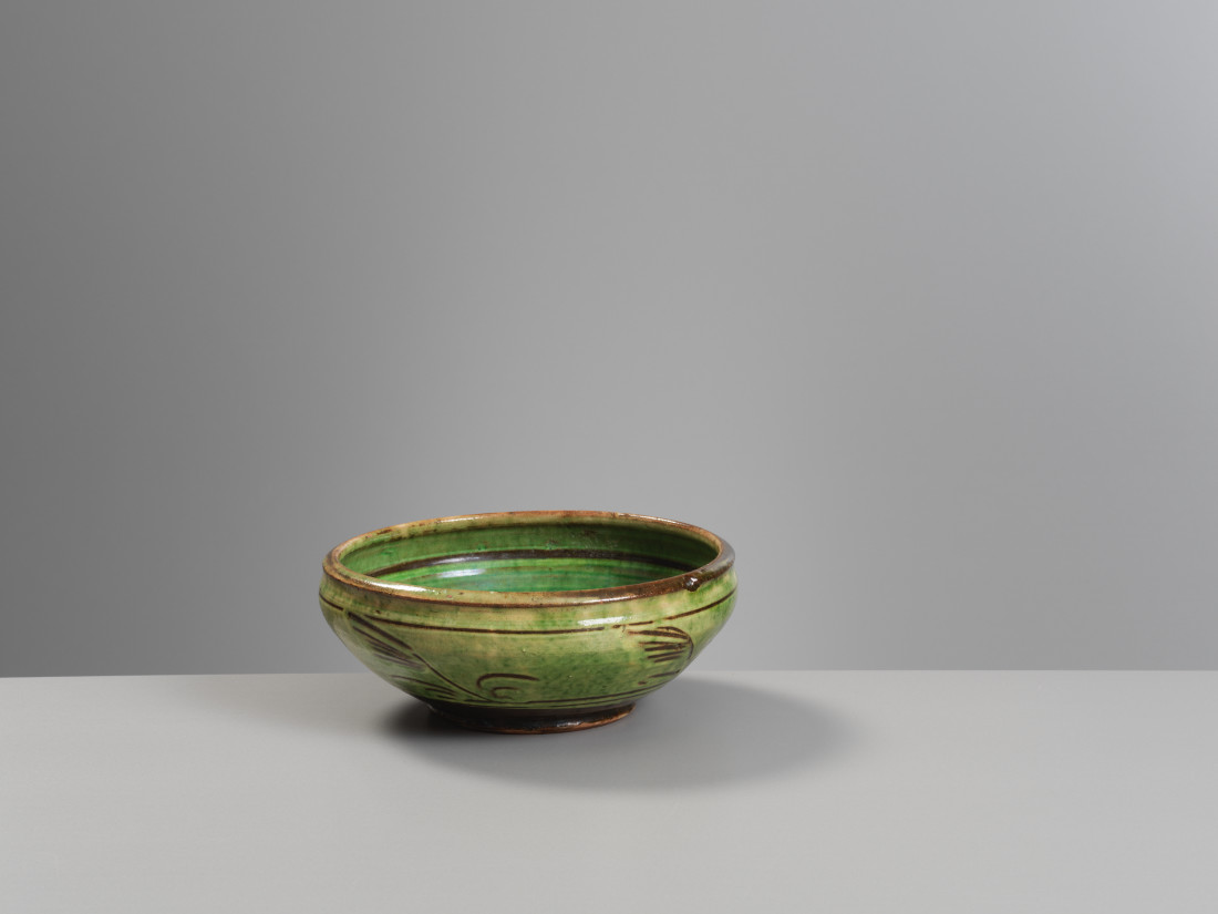 Michael Cardew, Bowl (losses to glaze)