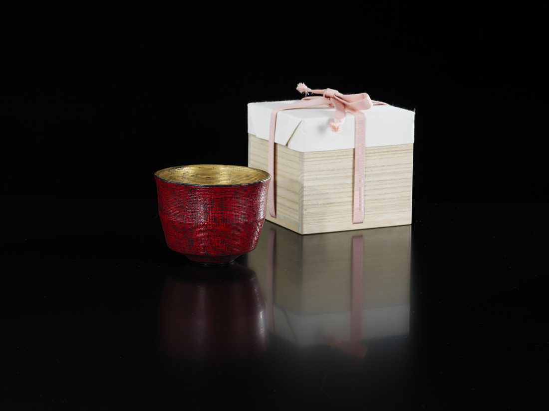 Maeda Masahiro, Red Tea Bowl