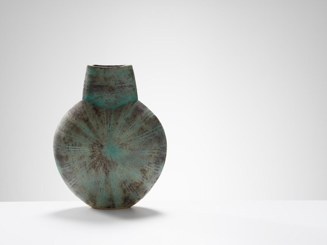 <span class=&#34;artist&#34;><strong>John Ward</strong><span class=&#34;artist_comma&#34;>, </span></span><span class=&#34;title&#34;>Turquoise Vessel</span>