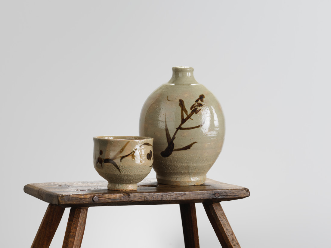 Shoji Hamada, Bottle Vase , c1970s