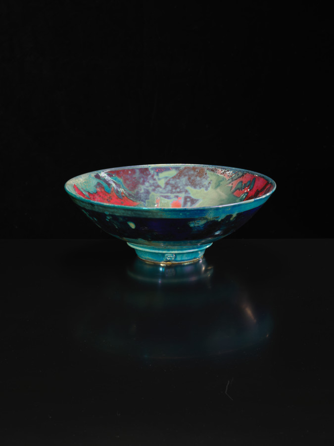 Sutton Taylor, Patterned Dish, Multicoloured, 2018
