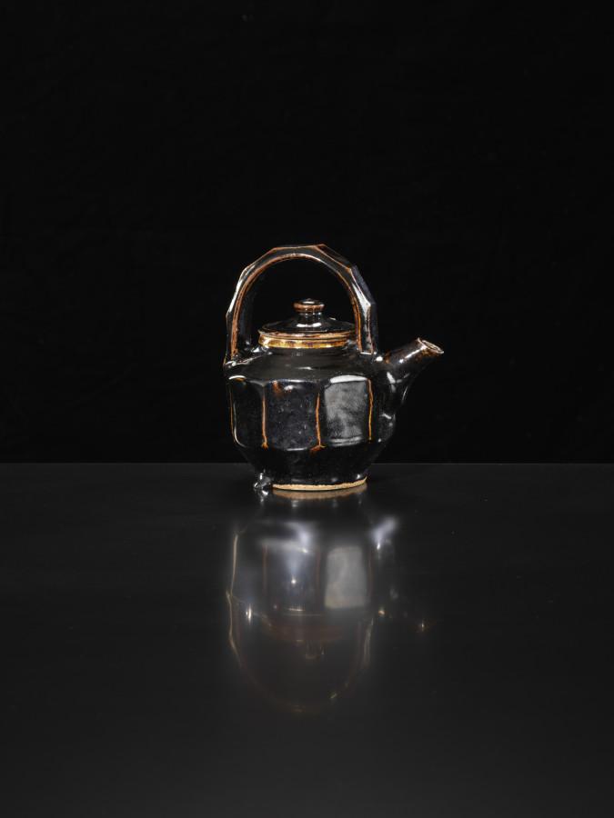 Shoji Hamada, Faceted Teapot, c1965