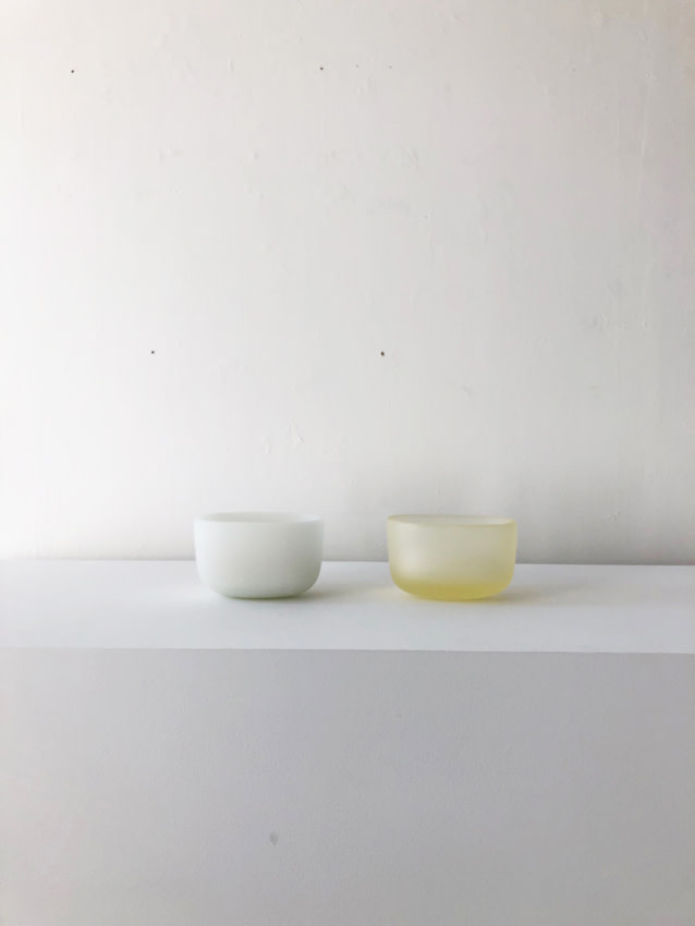 Andrea Walsh, Pair of Contained Boxes (Rounded Oval), 2019