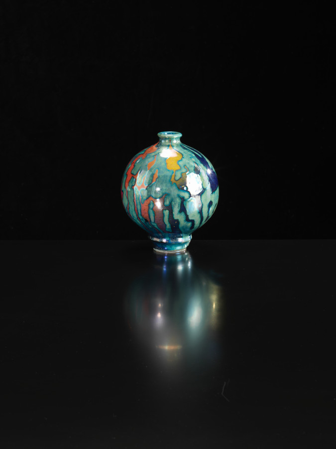 <span class=&#34;artist&#34;><strong>Sutton Taylor</strong><span class=&#34;artist_comma&#34;>, </span></span><span class=&#34;title&#34;>Patterned Bottle Multi Coloured <span class=&#34;title_comma&#34;>, </span></span><span class=&#34;year&#34;>2018</span>