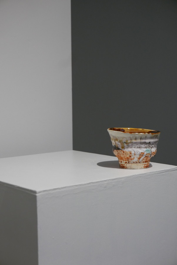 Simon Carroll, large teabowl