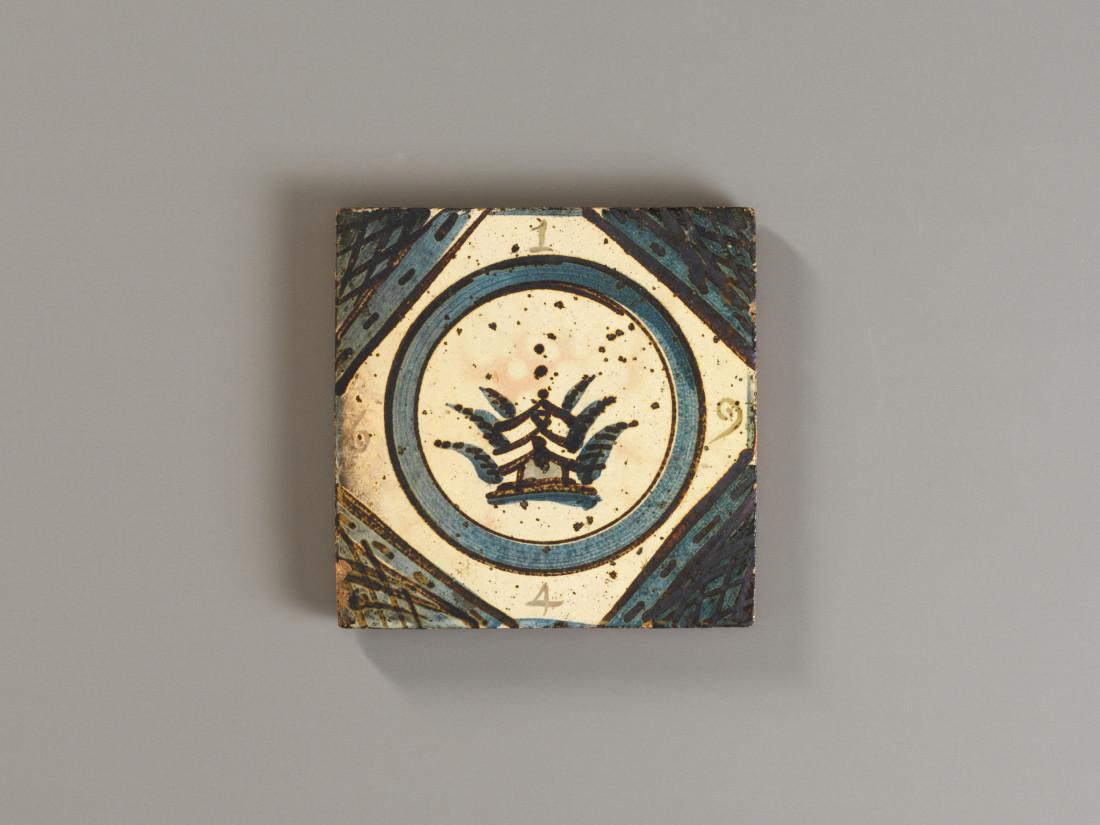 Bernard Leach, Large Tile, 1964