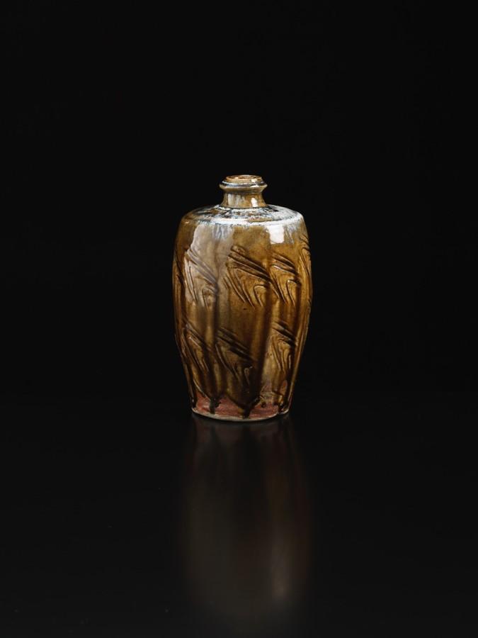 <span class=&#34;artist&#34;><strong>Shoji Hamada</strong><span class=&#34;artist_comma&#34;>, </span></span><span class=&#34;title&#34;>Ash Glazed Bottle</span>