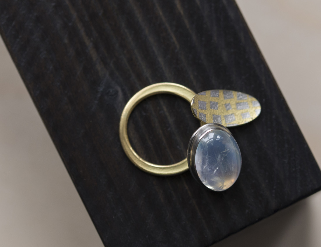 Jacqueline Mina, Moonstone Ring