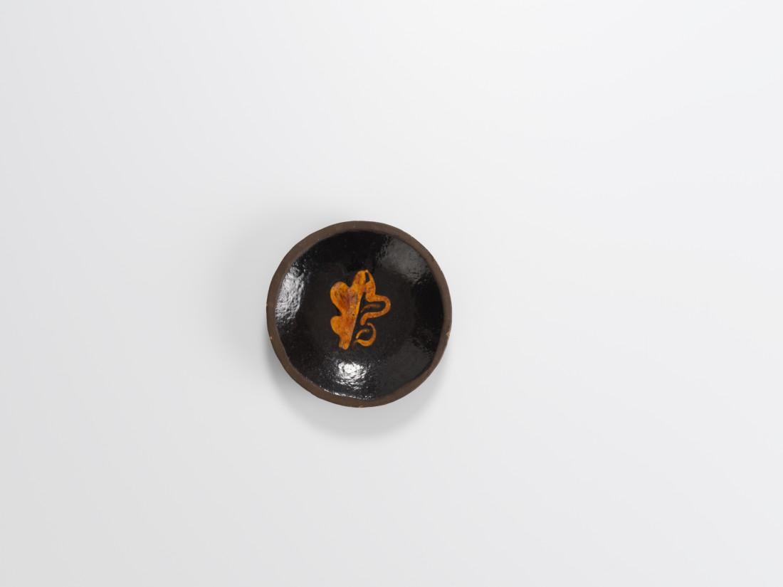 Bernard Leach, Oak Leaf Dish, c1932