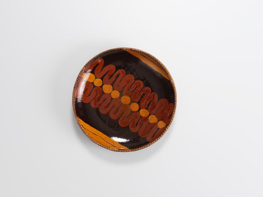 Bernard Leach, Slip Trailed Plate