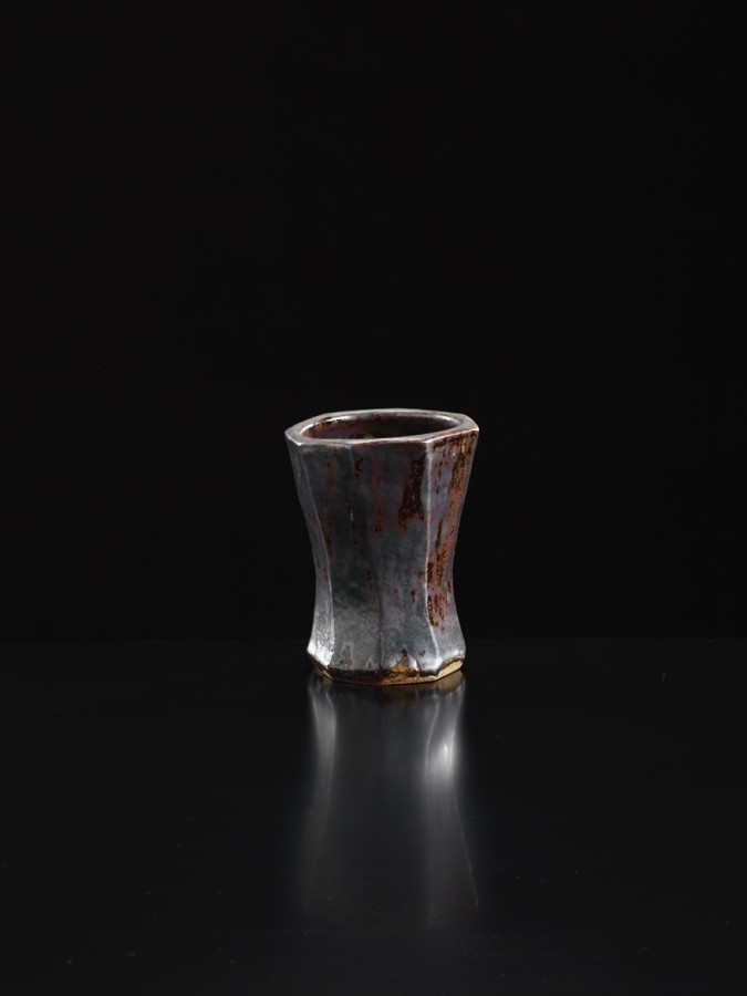 Shoji Hamada, Eight Sided Vase, c1955