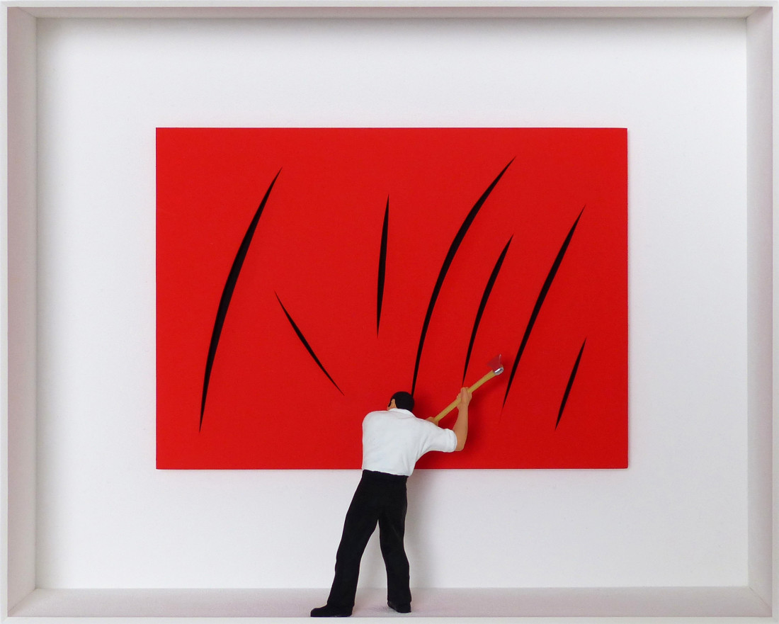 <span class=&#34;artist&#34;><strong>Volker Kuhn</strong></span>, <span class=&#34;title&#34;><em>Homage to Fontana </em></span>