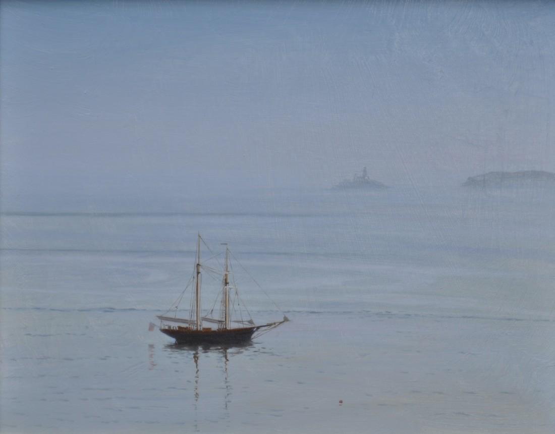 Carl Laubin, Topsail schooner, St. Ives 1