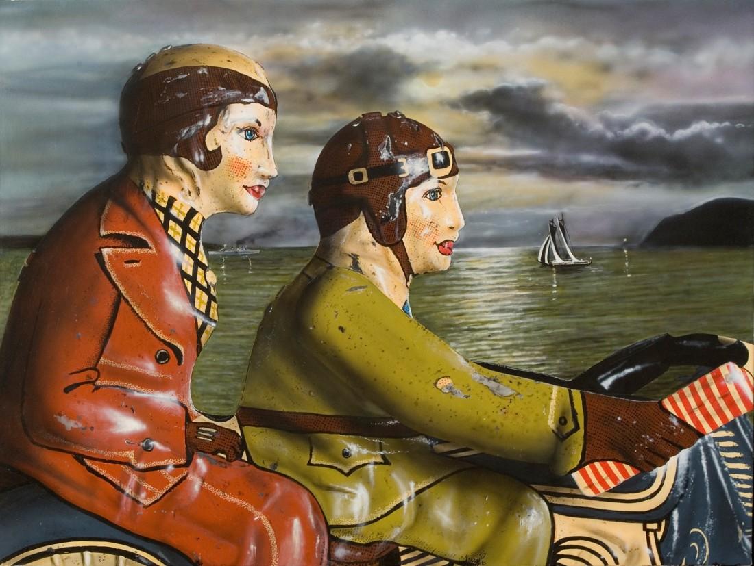 Cesar Santander, Passing the Harbor