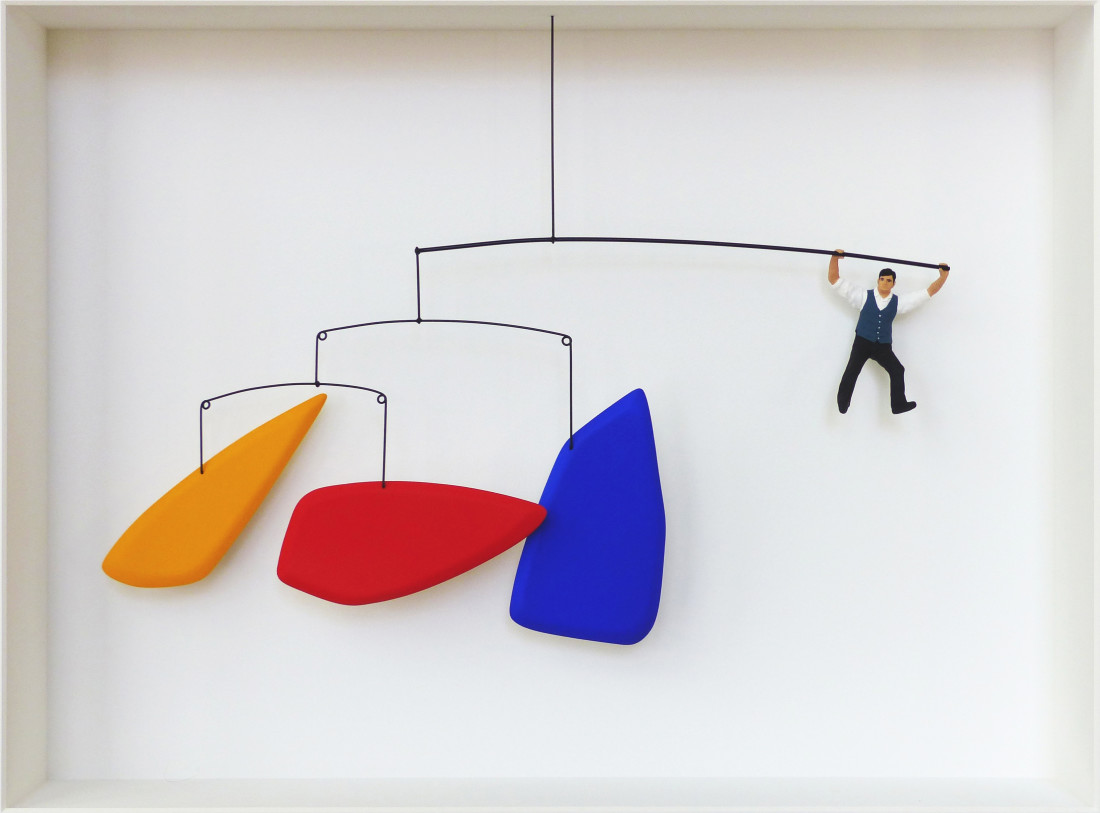 Volker Kuhn, Homage to Calder, swing