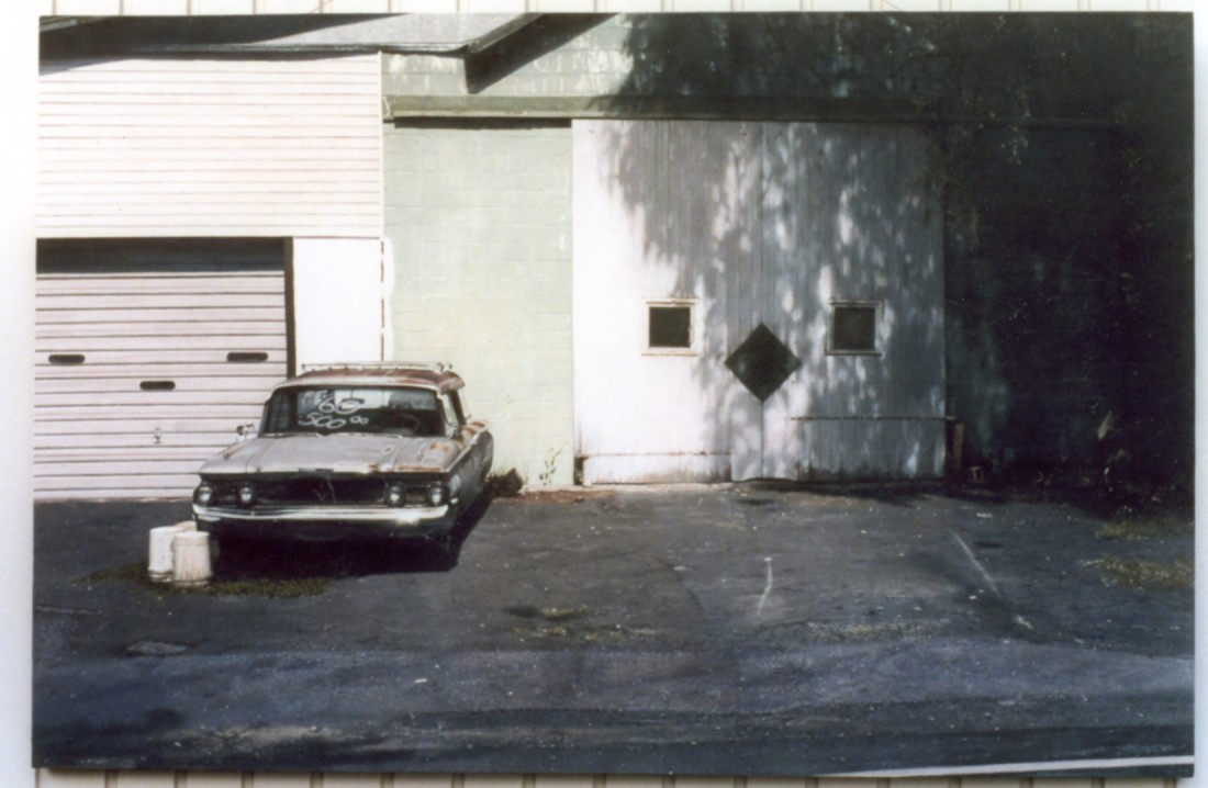 <span class=&#34;artist&#34;><strong>John Salt</strong></span>, <span class=&#34;title&#34;><em>Chevy and Garage</em></span>